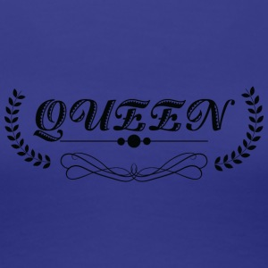 Queen black - Women's Premium T-Shirt