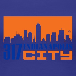 317INDIANAPOLIS CITY - Women's Premium T-Shirt