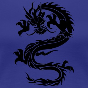 Dragon Tatoo - Women's Premium T-Shirt
