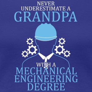 Mechanical Engineering Grandpa T Shirt - Women's Premium T-Shirt