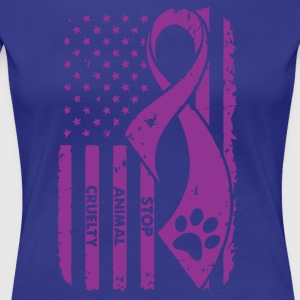 Animal Cruelty Awareness! - Women's Premium T-Shirt