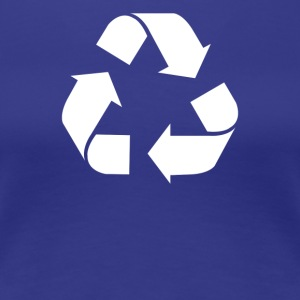 Recycle Screen Printed - Women's Premium T-Shirt