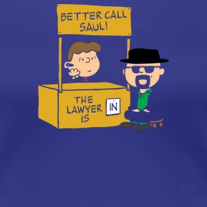 Better call Peanuts - Women's Premium T-Shirt
