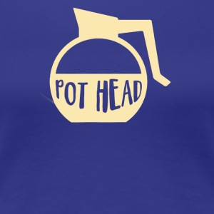 Pot head - Women's Premium T-Shirt