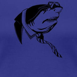 Business Shark - Women's Premium T-Shirt