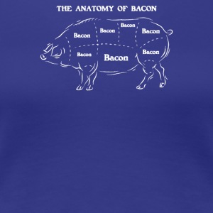Anatomy Of Bacon - Women's Premium T-Shirt