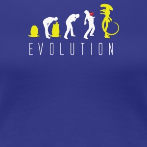 Evolution of Alien - Women's Premium T-Shirt