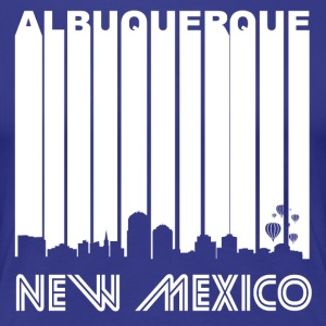 Retro Albuquerque Skyline - Women's Premium T-Shirt