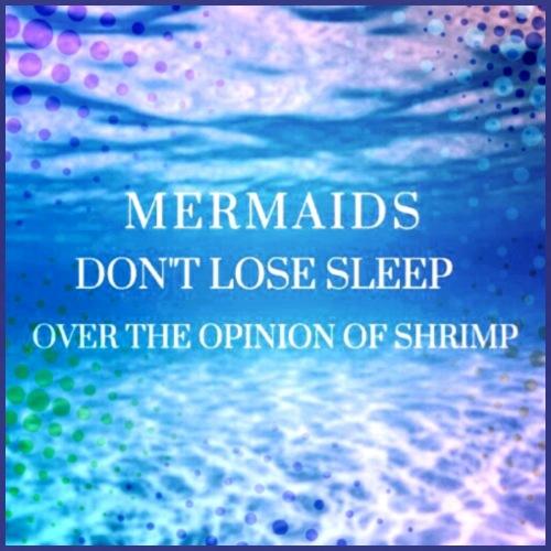 Mermaid quote - Women's Premium T-Shirt