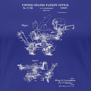 Awesome! 1940 Camera Dolly Patent Shirt for Film - Women's Premium T-Shirt