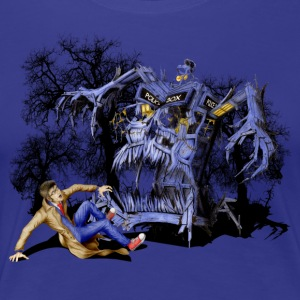 Halloween Monster Phone booth - Women's Premium T-Shirt