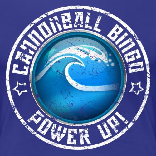 Vintage Tsunami Power-Up Tee - Women's Premium T-Shirt
