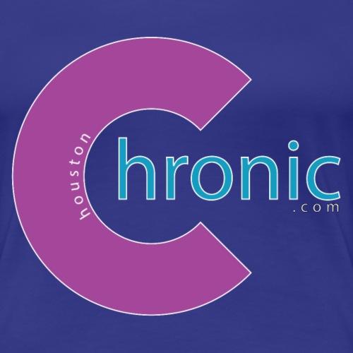 Houston Chronic - Purp C - Women's Premium T-Shirt