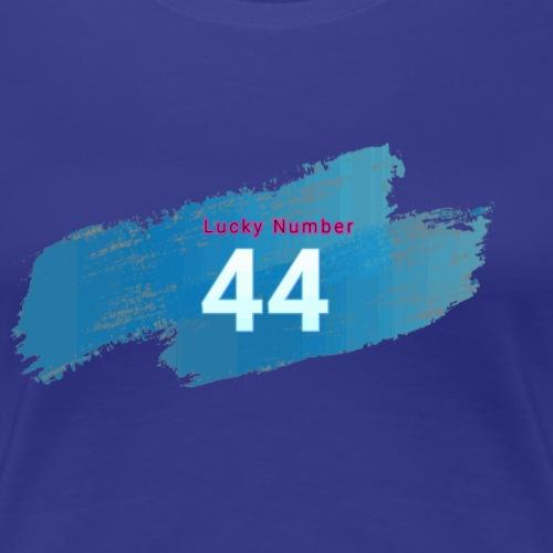Lucky Number 44 - Women's Premium T-Shirt
