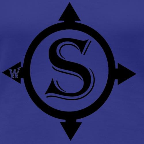 Surveyor Logo - Women's Premium T-Shirt