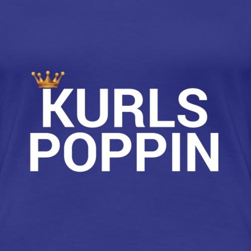 Kurls Poppin - Women's Premium T-Shirt