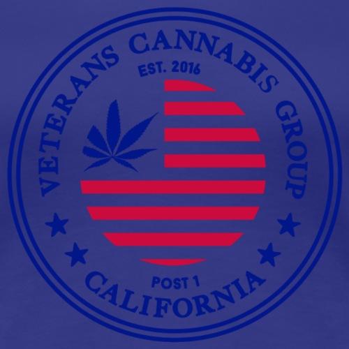 Veterans Cannabis Group Logo - Women's Premium T-Shirt