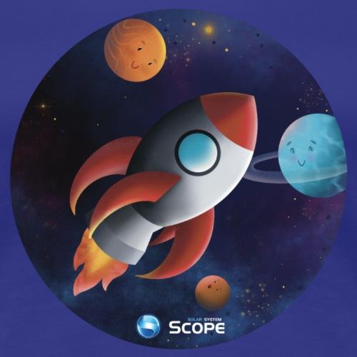 Solar System Scope : Little Space Explorer - Women's Premium T-Shirt