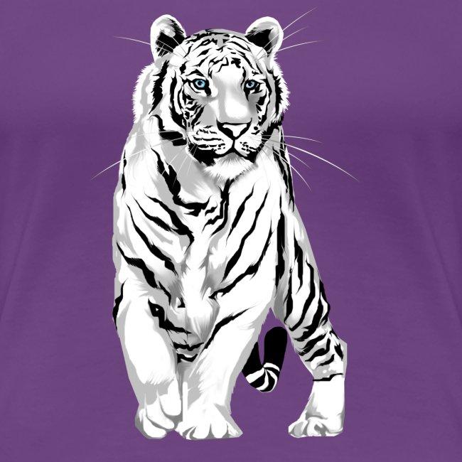 Stately White Tiger
