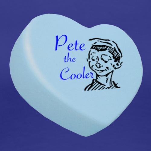 Pete the Cooler Candy Heart - blue - Women's Premium T-Shirt