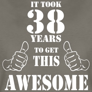 38th Birthday Get Awesome T Shirt Made in 1979 - Women's Premium T-Shirt