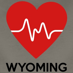 Heart Wyoming - Women's Premium T-Shirt