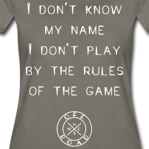 rules-of-the-game - Women's Premium T-Shirt