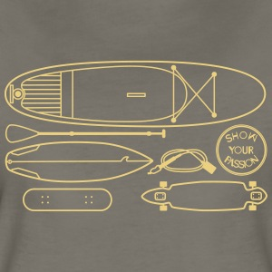 Boards Boards Boards - Women's Premium T-Shirt