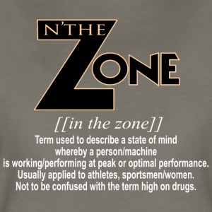 in the zone definition 3 - Women's Premium T-Shirt