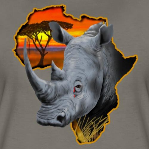 Rhino Tears - Women's Premium T-Shirt