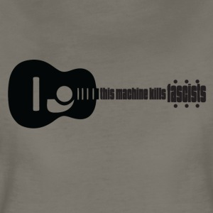 Music kills Fascism - Women's Premium T-Shirt