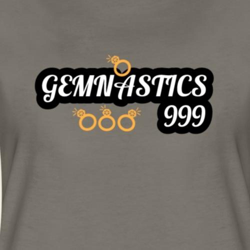 Gemnastics logo white - Women's Premium T-Shirt