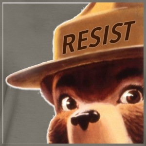 smoky says resist - Women's Premium T-Shirt