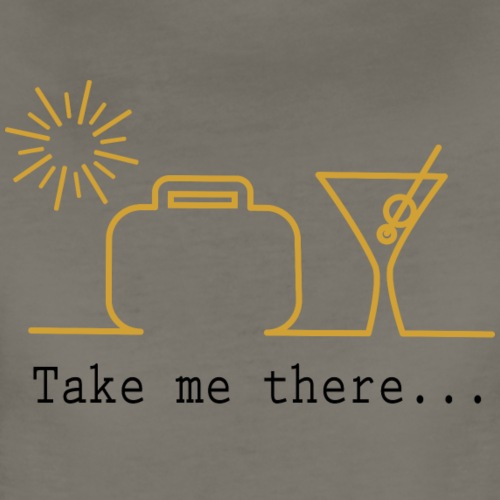 Take me on vacation - Women's Premium T-Shirt