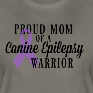 Proud Mom of a Canine Epilepsy Warrior - Women's Premium T-Shirt
