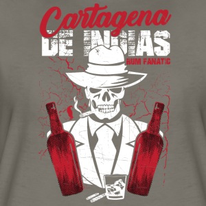 Rum Fanatic T-shirt Cartagena de Indias, Colombia - Women's Premium T-Shirt