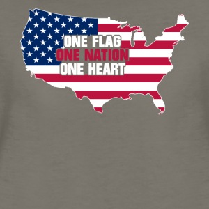 American Flag Made in USA 4th of July products - Women's Premium T-Shirt