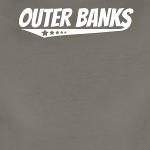 Outer Banks Retro Comic Book Style Logo - Women's Premium T-Shirt