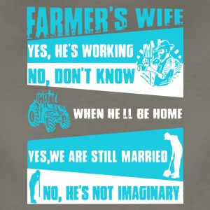 Farmer's Wife T Shirt - Women's Premium T-Shirt