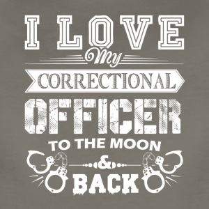 I Love My Correctional Officer Shirts - Women's Premium T-Shirt