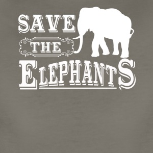 Save The Elephants Shirt - Women's Premium T-Shirt