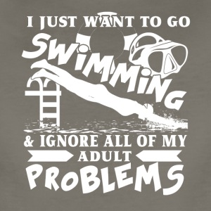 I Just Want To Go Swimming Shirt - Women's Premium T-Shirt