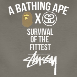 BapexStussy Limited Edition - Women's Premium T-Shirt