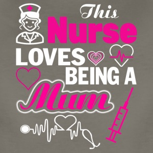 This Nurse Loves being A Mum T Shirt - Women's Premium T-Shirt