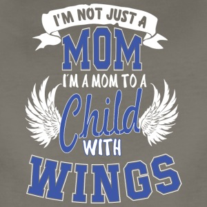 Mom To A Child With Wings T Shirt - Women's Premium T-Shirt