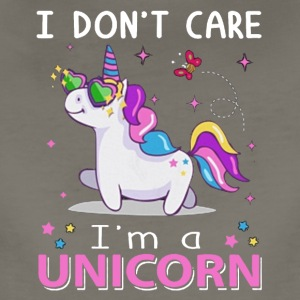 I DON'T CARE I M A UNICORN TSHIRT - Women's Premium T-Shirt