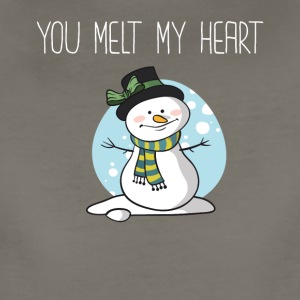 You Melt My Heart Winter Boyfriend Girlfriend - Women's Premium T-Shirt