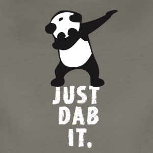 dab just panda dabbing football touchdown mooving - Women's Premium T-Shirt