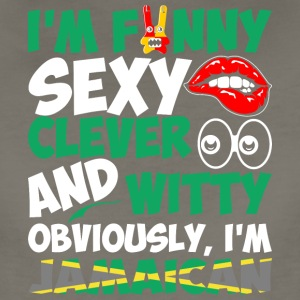 Im Funny Sexy Clever And Witty Im Jamaican - Women's Premium T-Shirt