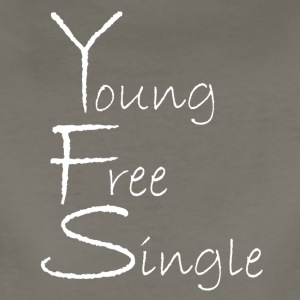 Young Free Single from Bent Sentimenta - Women's Premium T-Shirt